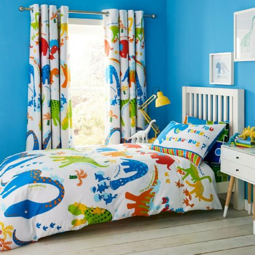 Catherine Lansfield Dino-Saw Multi Bedding Set
